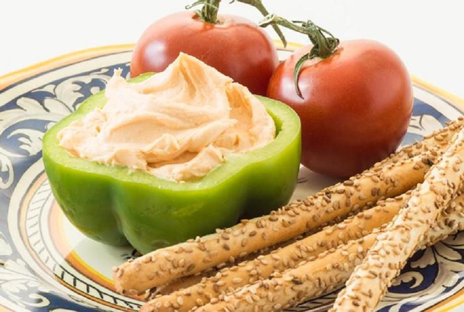 Cheese and Vegetable Spread Dip