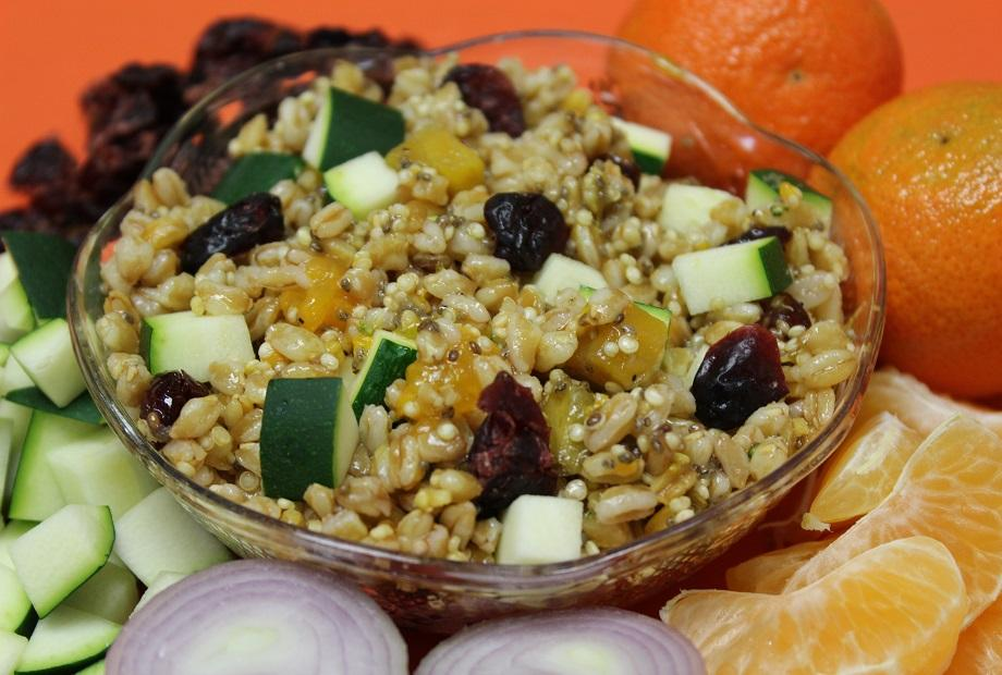Ancient Grains with Beets
